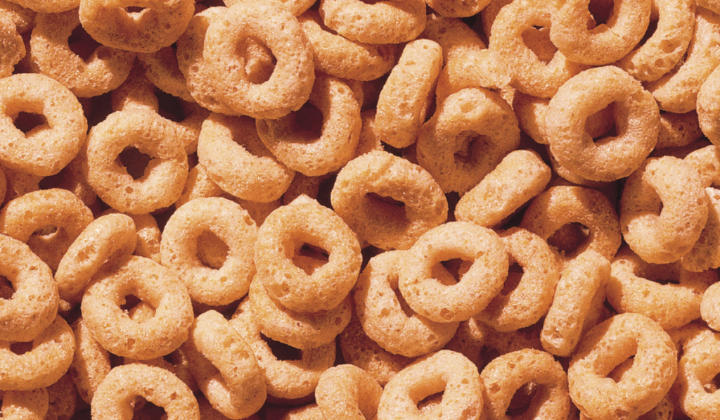Close up picture of cereals